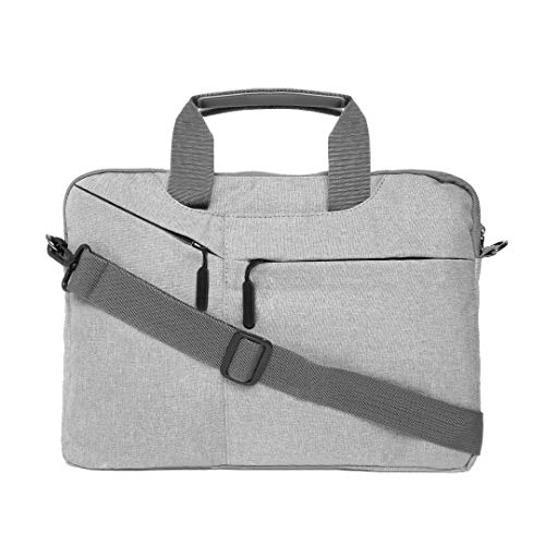 Royal Son 14 Inch Solid Laptop Messenger Sleeve Bags  Grey