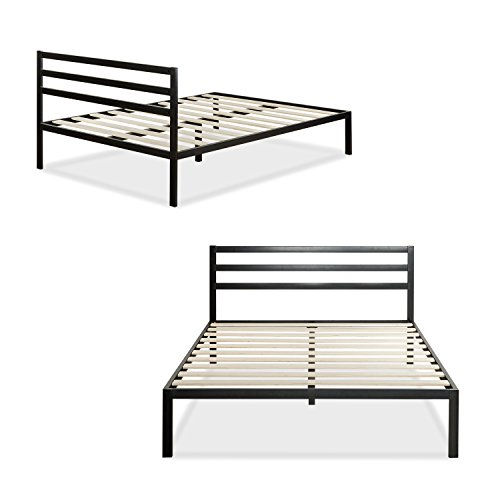 Zinus Modern Studio 14 Inch Platform 1500H Metal Bed Frame/Mattress Foundation with...