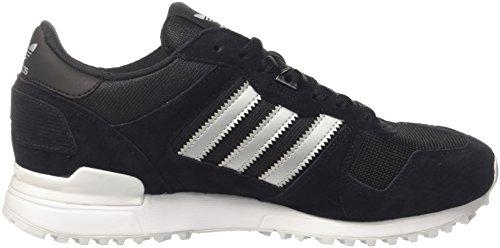 adidas Zx 700, Zapatillas para Hombre Varios colores (Core Black / Matte Silver / Utility Black)
