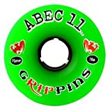 : 70MM Grippin (ABGR70-88A) Longboard Wheels (Set of 4)