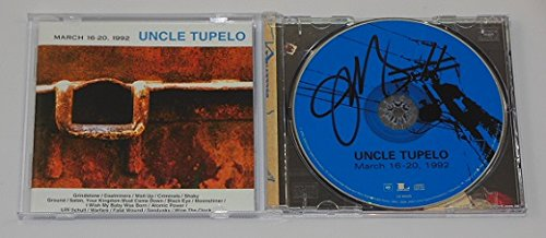 Uncle Tupelo March 16-20, 1992 Jeff Tweedy Signed Autographed Music Cd Compact Disc Loa