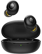 سماعات اذن لاسلكية تعمل بالبلوتوث بودز كيو من ريلمي RMA215 - اسود، 3.6 جرام