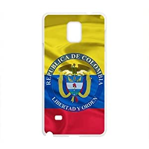Republica de Colombia libertad y orden Cell Phone Case for Samsung Galaxy Note4