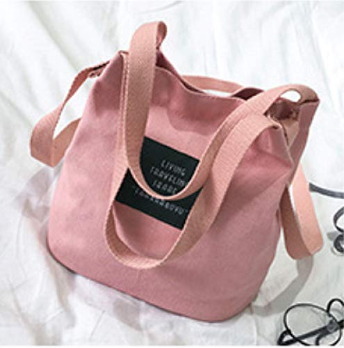 Bag Casual Tendance bandoulière Toile Sac Rose Lady Messenger FJTHY Femme Casual Sac xF4wqnOSfO