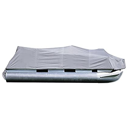 Image of attwood 17790'Road Ready Cotton Pontoon Cover - 17' to 18'11' Center Length with 102' Beam Width