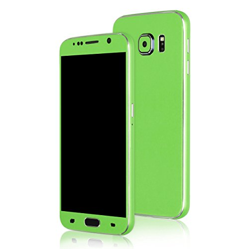 AppSkins Folien-Set Samsung Galaxy S6 Color Edition green