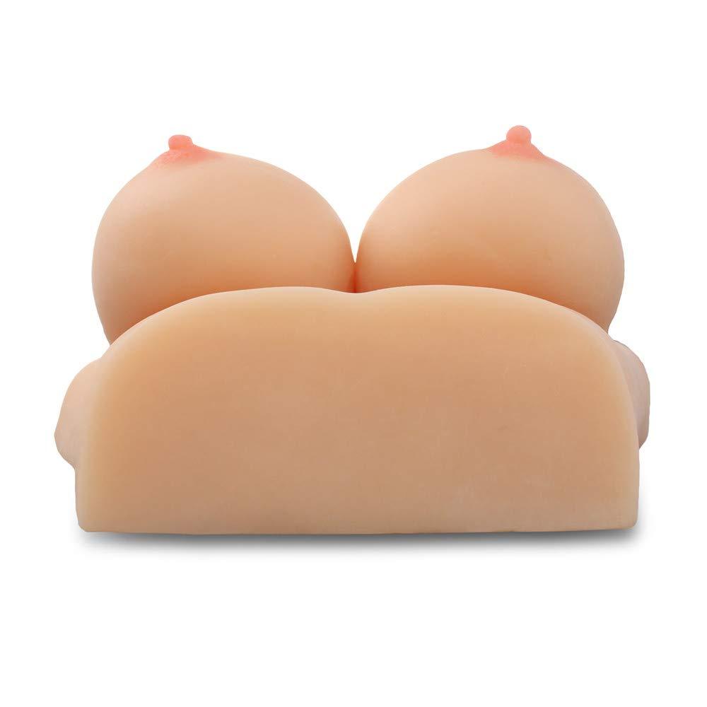 Estimulación Big Double D Masturbador de senos Juguete masturbación de sexo realista para la masturbación Juguete masculina,S 32a676
