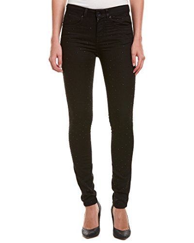 Karen Millen Womens Fashion Studded High-Rise Skinny Leg, US 4/UK 8, - Millen Karen Uk