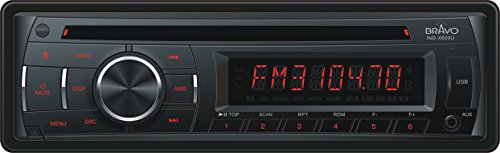 Bravo View IND-X600U – In-Dash CD/MP3 Receiver with USB/SD/AUX-IN