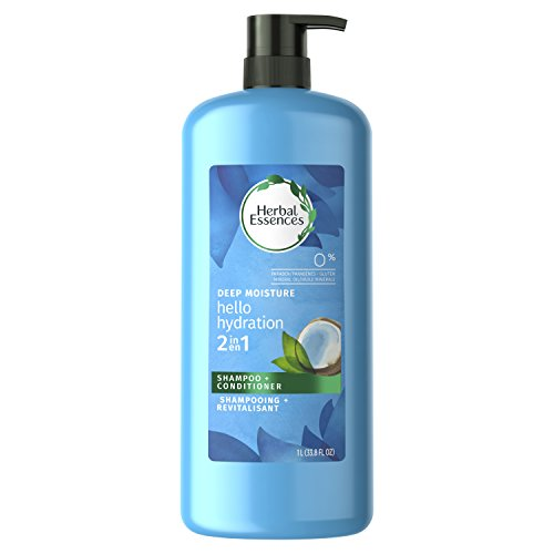- Herbal Essences Hello Hydration 2 in 1 Moisturizing Shampoo & Conditioner, 33.8 fl oz, Packaging May Vary