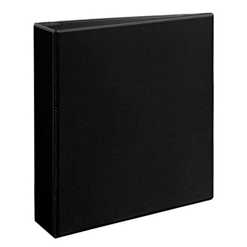 2 Binder (Avery Heavy Duty 2 inch Black View Binder with One Touch EZDTM)