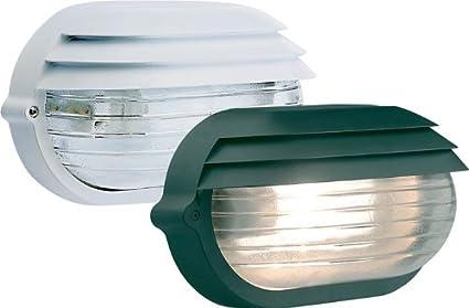 Plafoniere Da Esterno A Parete : Papillon plafoniera bianca esterno vetro trasparente attacco a