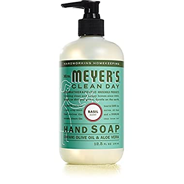 Mrs. Meyer's Clean Day Liquid Hand Soap - Basil - 12.5 oz