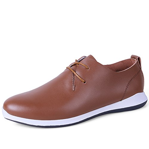 Minishion Boys Mens Chaussures À Lacets Casual Chaussures Marron