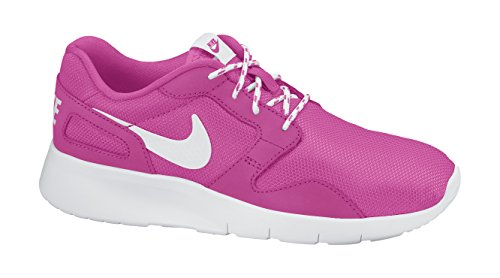 Nike Kaishi (GS), Zapatillas de Running Para Niñas Rosa / Blanco (Hot Pink / White)
