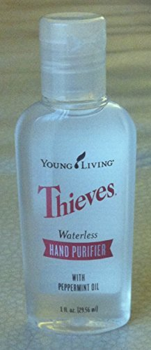 Young Living Thieves Waterless Hand Purifier 1 fl oz (Young Living Purifier)
