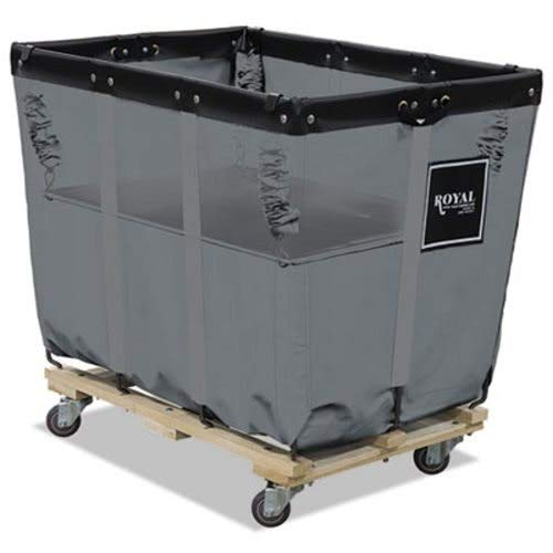 Royal Basket Trucks R12GGXSLN Spring Lift 22 x 32 12 Bushel Vinyl/Steel ()