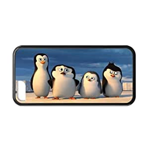 Hoomin Funny Penguins of Madagascar Beach iPhone 5C Cell Phone Cases Cover Popular Gifts(Laster Technology) by runtopwell