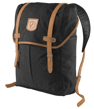 Fjallraven Rucksack No. 21 Medium Black One Size, Outdoor Stuffs