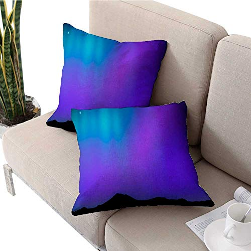 ed Printing Pillowcase Solar and Lunar eclipses Full Cycle Sun and Moon eclipses Floral Pillow Covers W 16