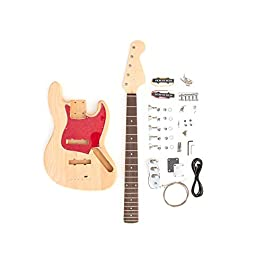 DIY Electric Bass Guitar Kit – 5 String J Bass Build Your Own