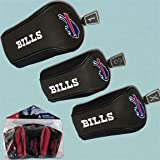 NFL Buffalo Bills 3 Pack Mesh Longneck Headcover Set, Outdoor Stuffs