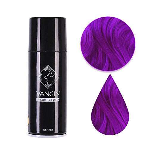 St.Mandyu Temporary Hair Color Spray 4 oz Great For Dress Up Performance Costumes Halloween Christmas -
