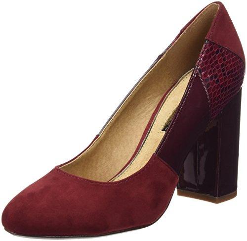 MTNG Originals 61295 - Zapatos de tacón para mujer Rojo (COMBI BURDEOS)