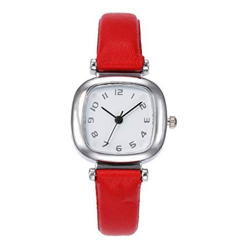Casual Thin Wrist Watches for Women,vansvar Women's Casual Quartz Leather Band Newv Strap Watch Analog Wrist Watch,Surf, Skate & Street Wrist Watches