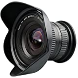 Lightdow 15mm F/4 1:1 Macro + Wide Angle FF(Full-frame) Prime Lens for Canon Nikon Digital SLR Dslr Cameras (for Canon EF)