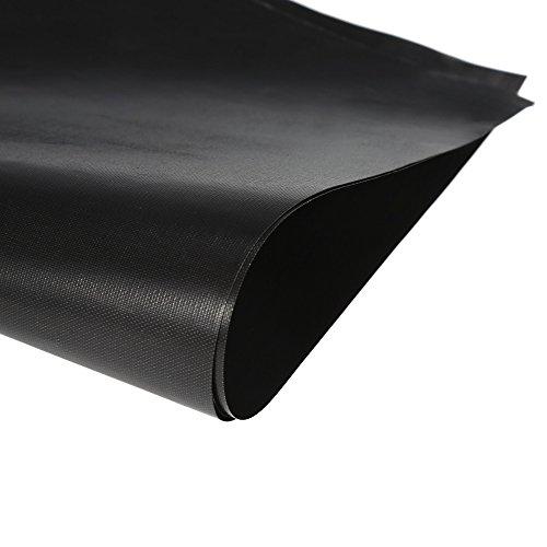 Gas Hob Stovetop Cooker Protectors Sheet Reusable Black