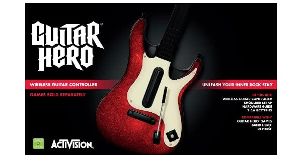 Xbox 360 Guitar Hero 5 Stand-Alone Guitar by Activision: Amazon.es ...