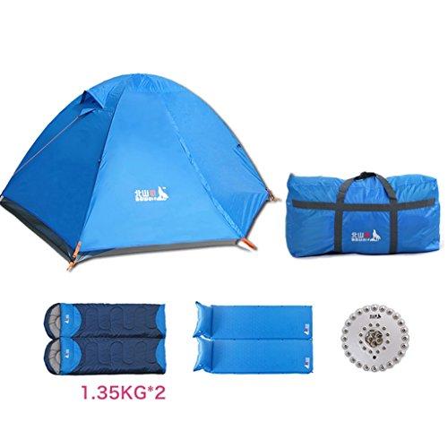 まばたき虹音シュウクラブ@ テントパッケージ屋外キャンプ2人風防フィールド雨風カップルクライミングテント (サイズ さいず : B)