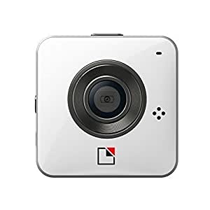 Unieye 720P HD Video Camera Waterproof Underwater 30 Meter IPX7 8GB card Hard Case included White