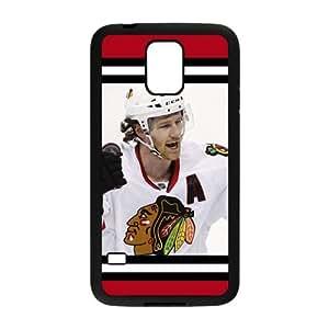 DAZHAHUI NHL Chicago Blackhawks Cell Phone Case for Samsung Galaxy S5
