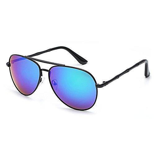 ZOMUSA Women Sunglasses, Classic Aviator Polarized Mirrored Lens Sunglasses for Women 100% UV Protection (B) (Sunglasses 99 Uv)