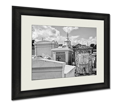 Ashley Framed Prints New Orleans Cemetery, Wall Art Home Decoration, Color, 34x40 (frame size), AG5624656 by Ashley Framed Prints