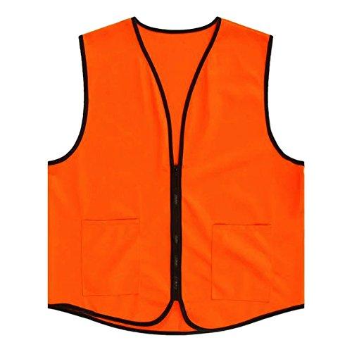 TopTie+Supermarket+Vest%2FApron+Vest+For+Clerk+Uniform+Vest+With+Zipper+Closure-Orange-US+L