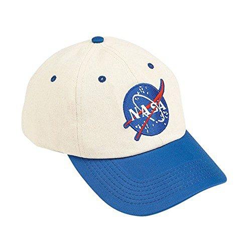 Aeromax Jr. NASA Astronaut Flight Suit Cap, Adjustable Youth Size, -
