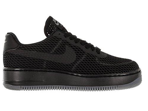 Nike W Af1 Low Upstep Br, Zapatillas de Deporte para Mujer Negro (Black / Black-Cool Grey)
