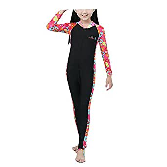 Lisianthus Child Sun Protection Full Body One-piece Wetsuit Red L