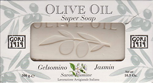Gori 1919 Olive Oil Jasmin Single Super Soap Bar 10.5 Oz. From - Bon Jasmin Le