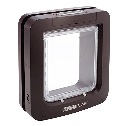 SureFlap Microchip Pet Door in Brown, Large