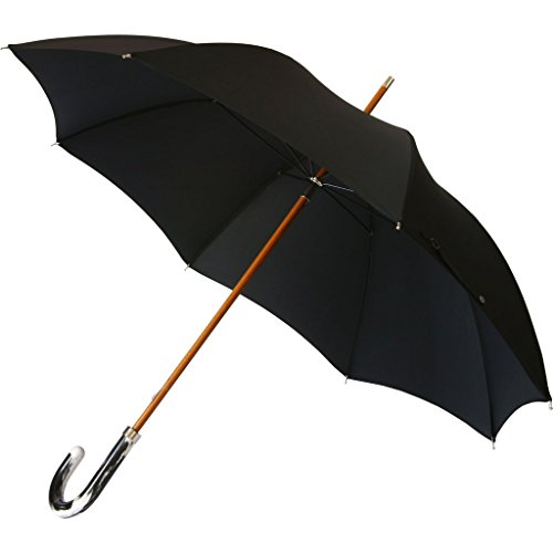 London Undercover City Gent Multi Black & White Umbrella | Recycled Handle LU MCG-001 by London Undercover