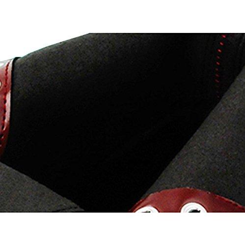 Casual Spillo Warm Lacci Ferro Lined 35 In Delle Stivaletti Cavallo Pelle Di Tacco A Comfort Caviglia Da Donna Scarpe Alla On8C16