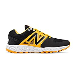 New Balance Turf 3000v3 Shoe Men's Baseball 7 Black-yellow