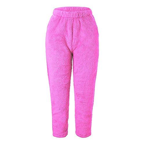 Ghette Leggings Caldo Pantaloni yoga Vello Pelliccia Donna Fitness donne Styledresser Da Rosa Sport Inverno Gambale FfgAqx