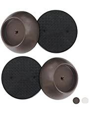 Baby Gate Guru Small Wall Protector 4 Pack - Bronze - Cup Pads To Guard Your Walls From Pressure Mounted Baby Gates, Pet Gates, Safety Gates, Shower Curtain Rods, and More (4 Pack, Bronze)