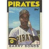 Barry Bonds 1986 Topps Traded Baseball Near Mint to Mint Rookie Card #11-T Shipped in Protective Screw Down Holder