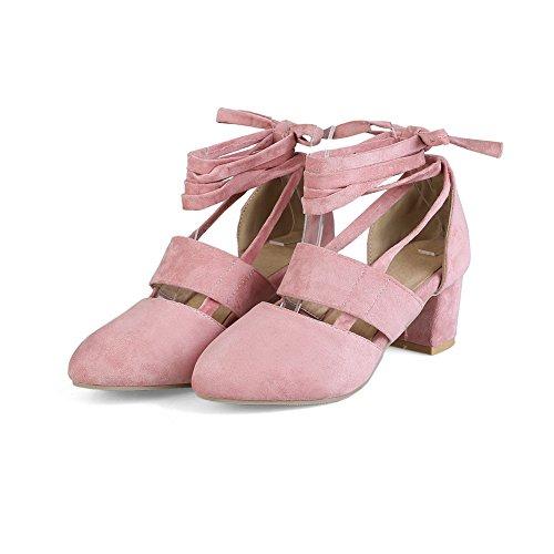 Sandalen Pink Sandalen BalaMasa Zehennubuk Damen geschlossene ASL04476 Urethan w8w0qXxa